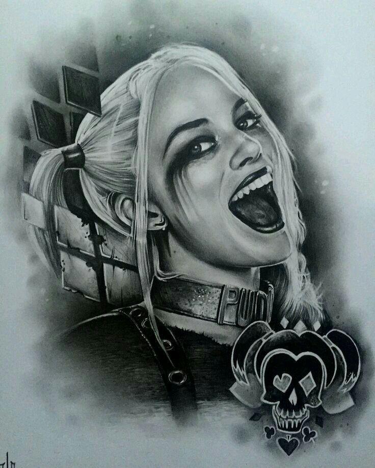 60 Quirky Harley Quinn Tattoo Ideas Bring