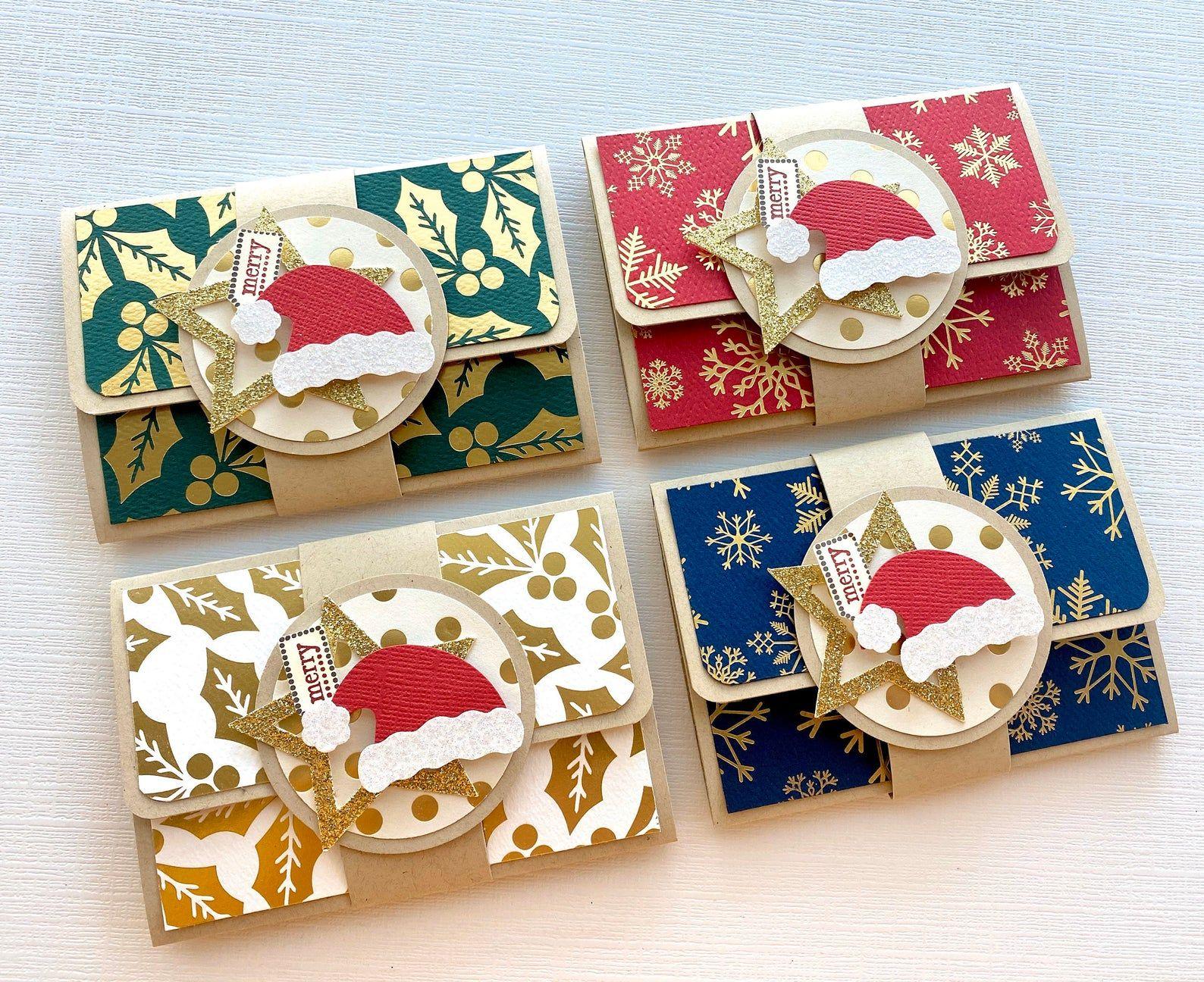 Christmas gift card holder christmas gift card envelope