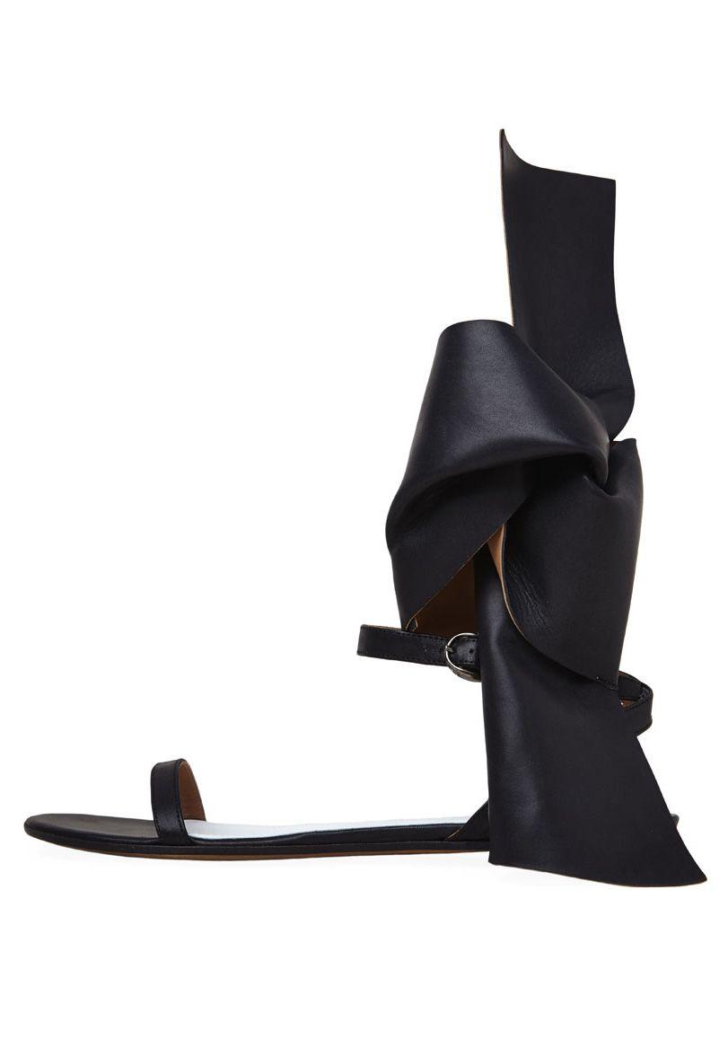 Maison Martin Margiela Line 22 Ankle-Bow Sandal | La Garçonne