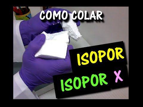 COMO COLAR ISOPOR COM ISOPOR