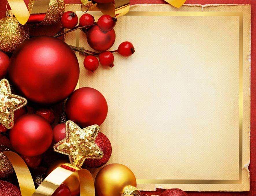 Tarjeta De Navidad Para Personalizar Descargar E Imprimir