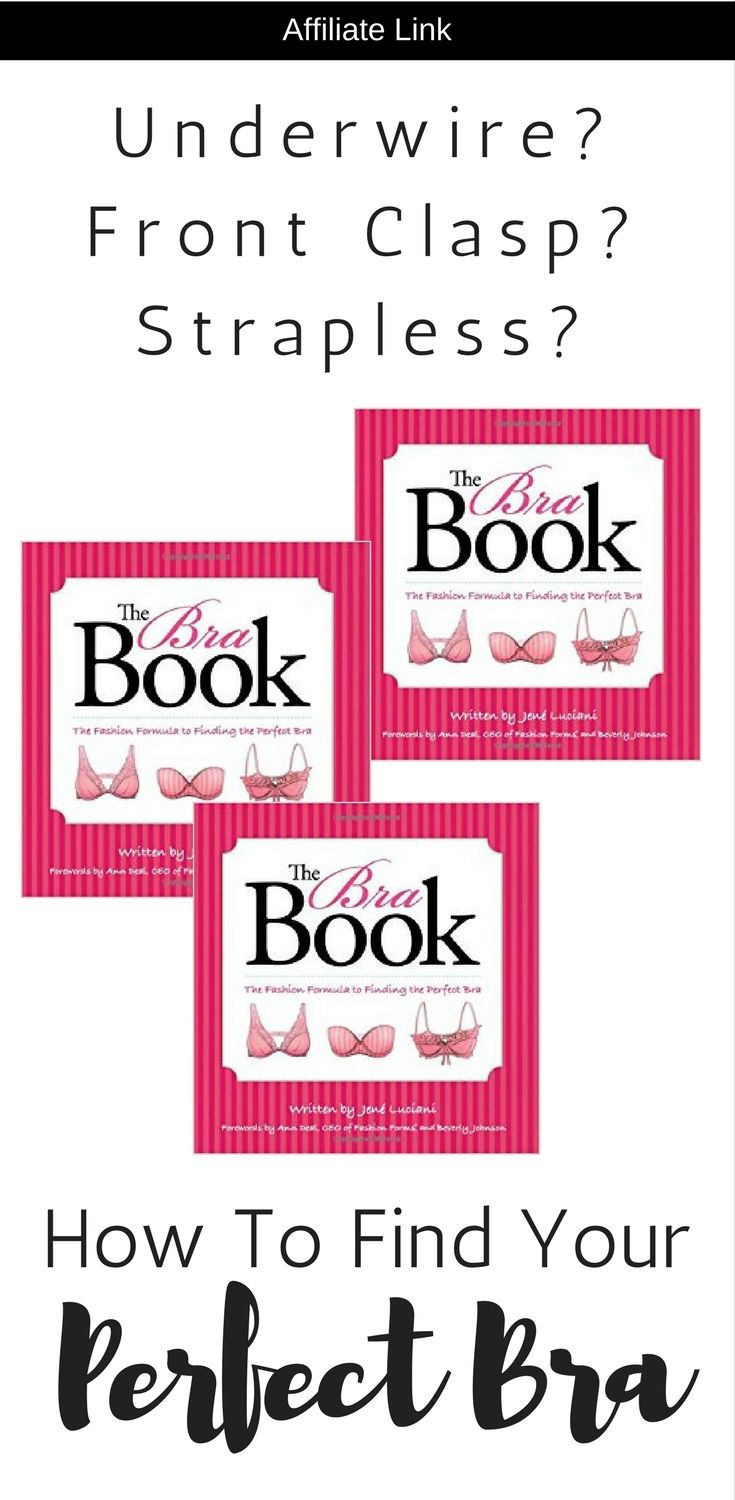 16f26e7663a12 How to find the perfect bra. Link to the book that explains correct bra  size