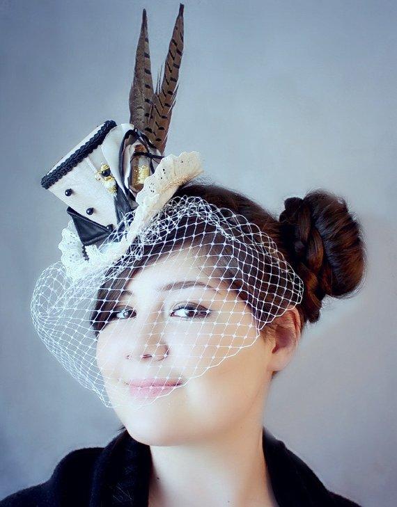 Champagne Mini Top Hat 584bca03b3f