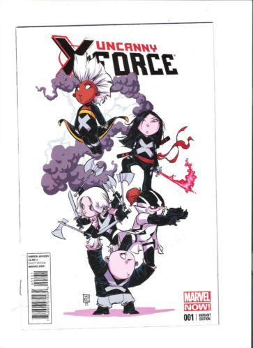 UNCANNY X-FORCE (v2) #001 Awesome variant by Skottie Young! NM http://r.ebay.com/zuFS0m