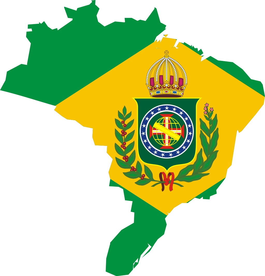 Flag Map Of The Empire Of Brazil Category Svg Maps Incorporating Flags Historical Wikimedia Commons Brazil Flag Flag Empire