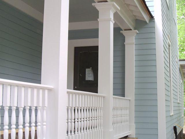 Benjamin Moore Wedgewood Gray Color Spotlight Exterior Paint