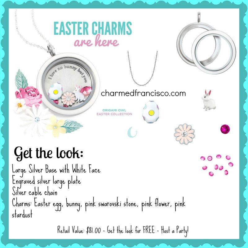 Origami Owl Spring 2015 Collection White Large Twist Locket With