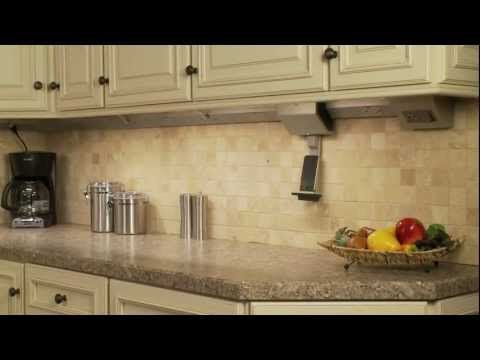Learn How To Install The Modular Tracks For Your Adorne Under Cabinet  Lighting, Leaving