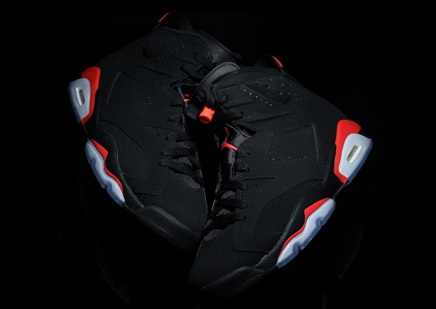 99e79a9cee2add Air Jordan 6 Black Infrared OG 2019 Release Date - Sneaker Bar Detroit
