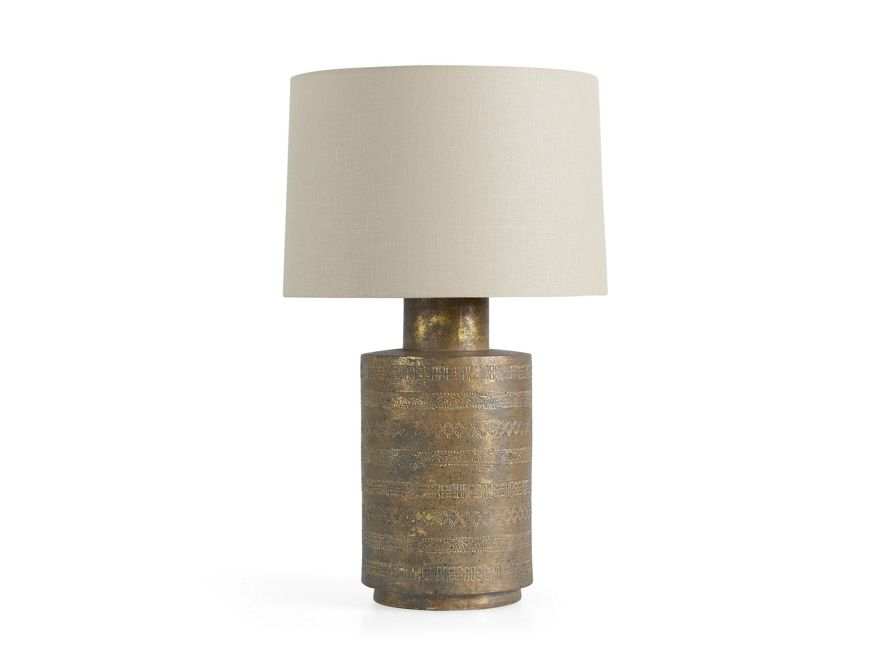 Tangier Gold Table Lamp | Arhaus Furniture | Table lamp