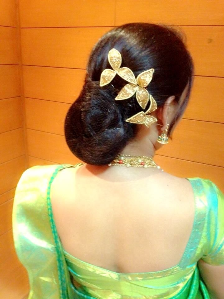#bridal #haristyles #indian | Indian bridal hairstyles ...