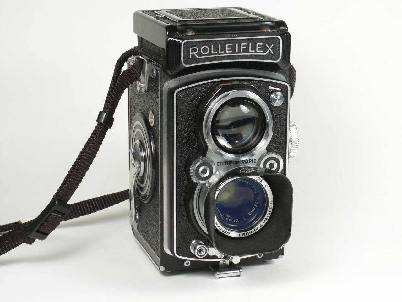 Camera | Rolleiflex camera, Antique cameras, Camera