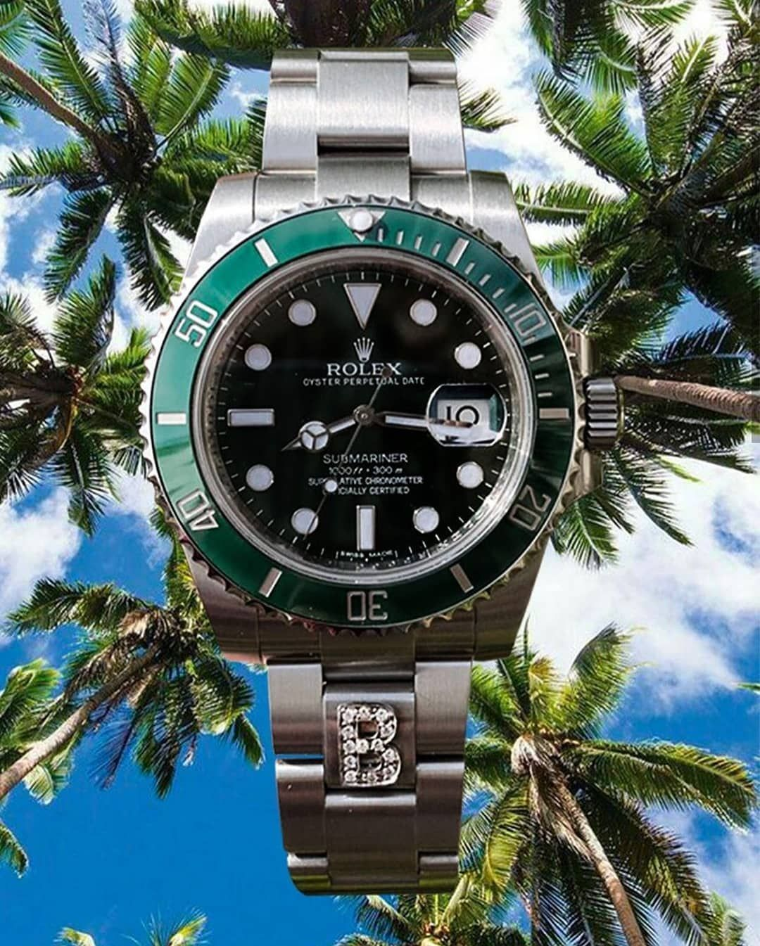 Rolex Submariner With Timeapp Milano Patented Link Cover Which Makes It Possible To Customize Your Watch With Belle Montre Homme Achat Montre Montre Pas Cher