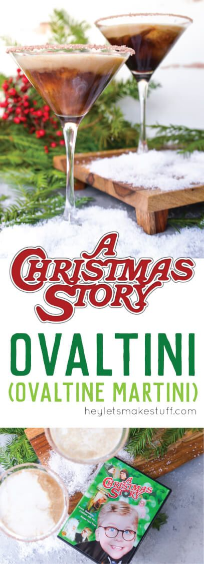 Ralphie gets an bitter reminder to drink his Ovaltine in A Christmas
