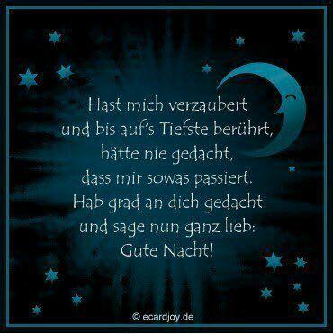 Spruch gute verliebte nacht Gute Nacht
