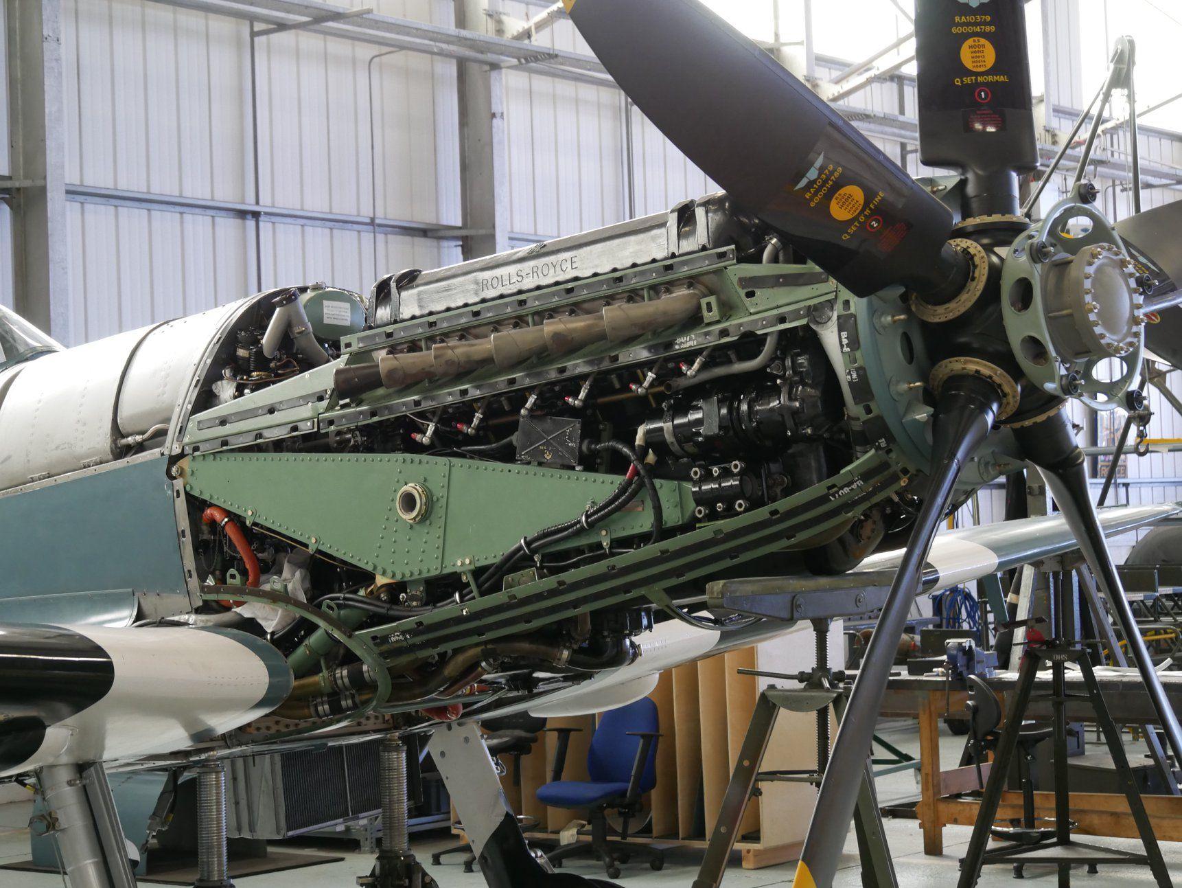 Rolls-Royce Griffon Engine   Aircraft Engines   Aircraft