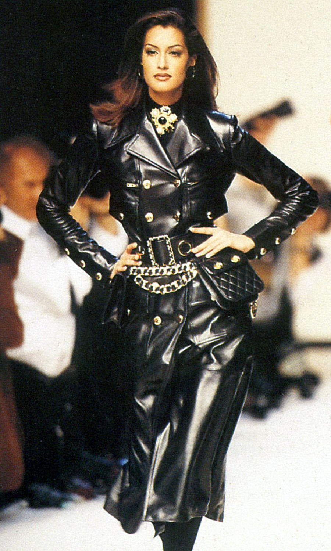 Yasmeen ghauri chanel fw fashionista pinterest