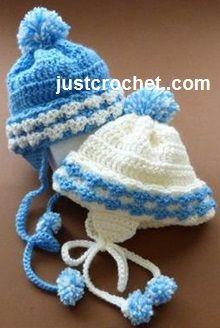 Free Baby Crochet Pattern Boys Helmet Usa Haken Gratis Patroon