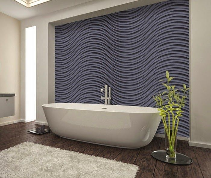 15 Dazzling Decorative 3d Wall Panels Trends Of 2015 Bathroom Wall Panels 3d Wall Panels Bathroom Wall Art