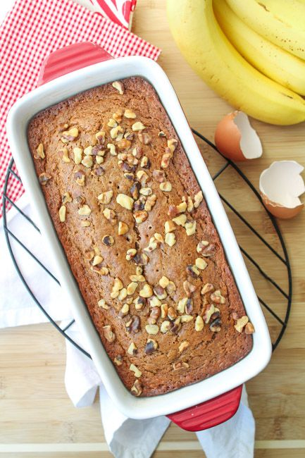 Sour Cream Walnut Banana Bread Sour Cream Banana Bread Banana Bread Recipes Yummy Food Dessert