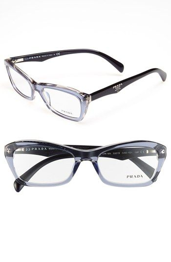 b0c576a2643 Prada 53mm Optical Glasses (Online Only) available at  Nordstrom ...
