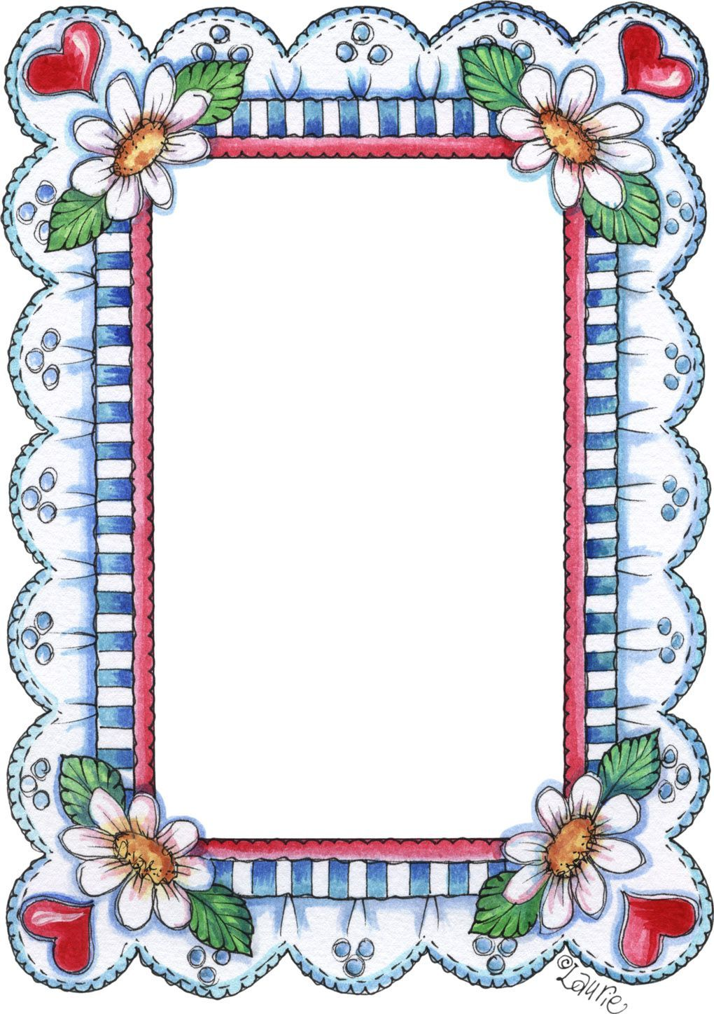Pin By Rhonda Ross On Laurie Furnell Printable Frames Scrapbook Frames Boarders And Frames