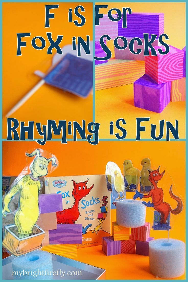 70382685239 F is for Fox in Socks | ABC Themes for Kids | Rhyming activities ...