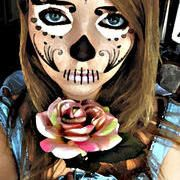 Photoshop Dia De La Muertos Girl