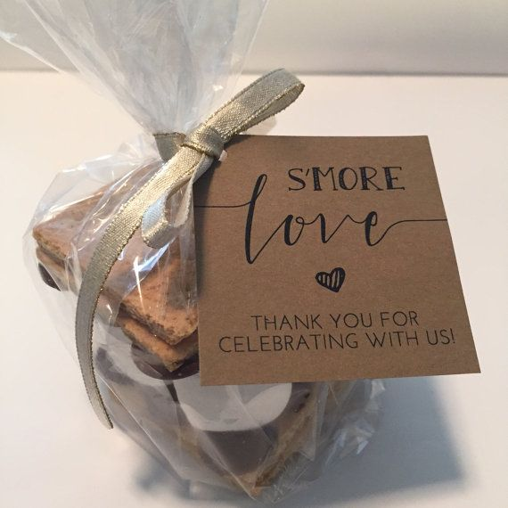 S\'more Love Favor Tags Printable // S\'mores Favor Kits // Smore Love ...