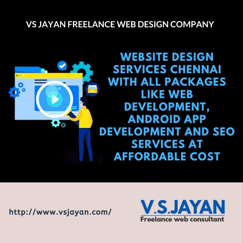 For Creating A Best Website Design Services Chennai With All Packages Like Logo Design Web Developme In 2020 Website Design Services Website Design Fun Website Design