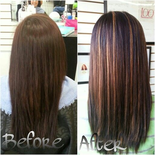 Lowlights Brown Hair Before After Google Search Natural Hair Salons Hair Natural Hair Styles
