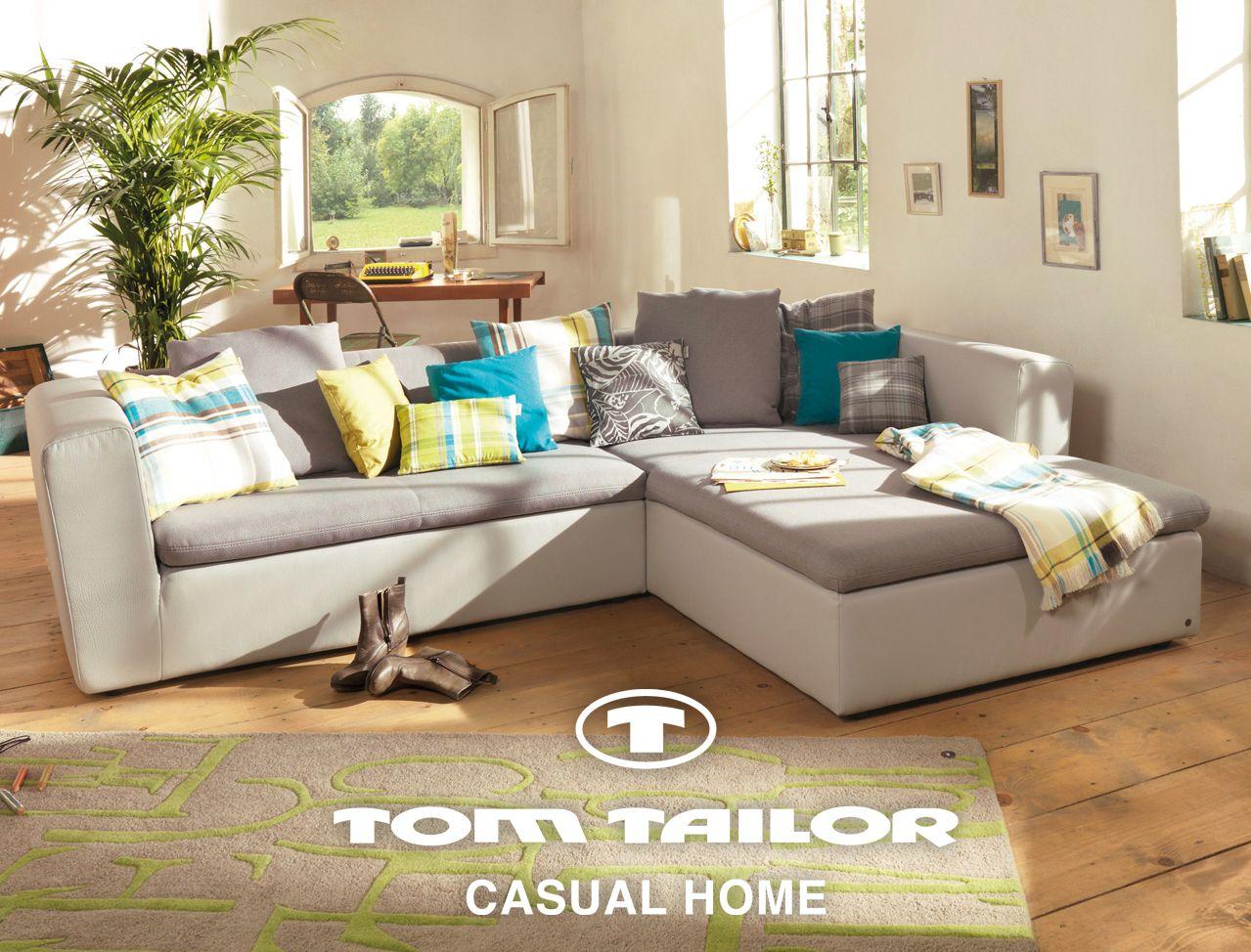 Duo Sofa By Tom Tailor Www Tom Tailor Com Fashionable Home Sofa Striped Sofa Big Sofas