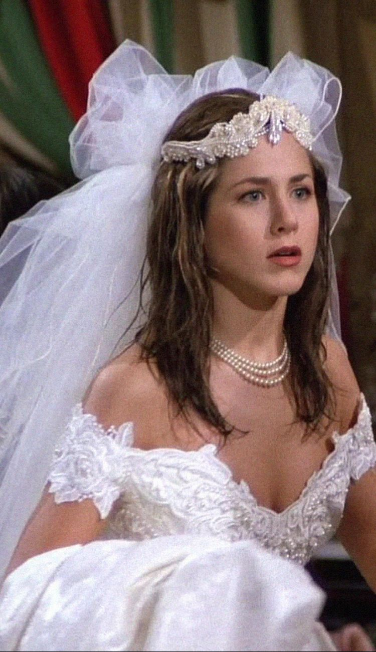 Pin By On Series In 2020 12 Wedding Dress Friends Cast Wedding [ 1301 x 750 Pixel ]