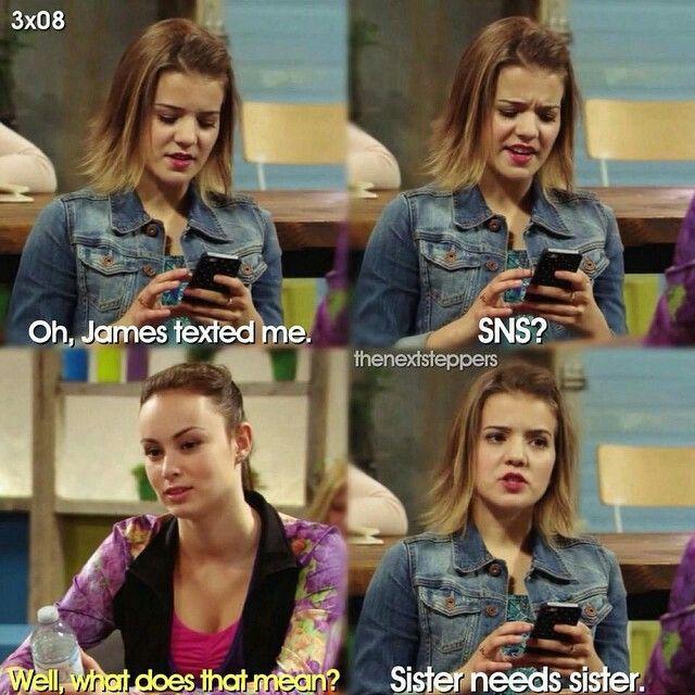 SNS=Sister Needs Sister