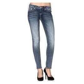 Miss Me Skinny Jean Fleur De Lis