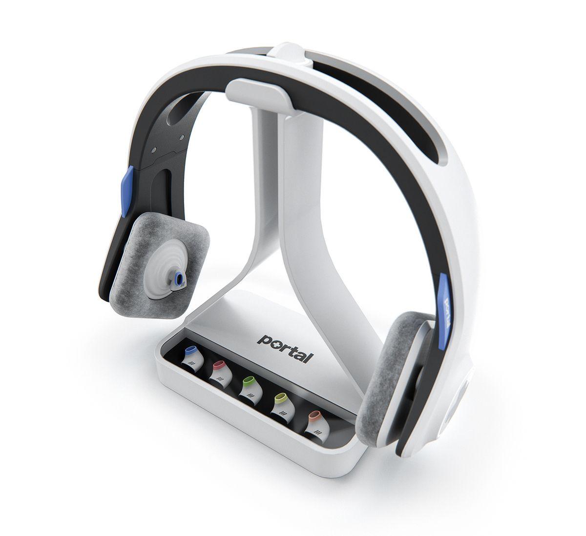 Portal Telemedicine Headset - #Medical #Design #Healthcare