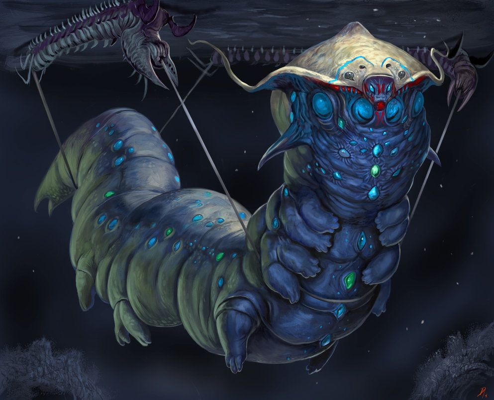 Jewelled Matriarch Final By Davesrightmind Deviantart Com On Deviantart Creature Art Creature Artwork Creature Concept Art