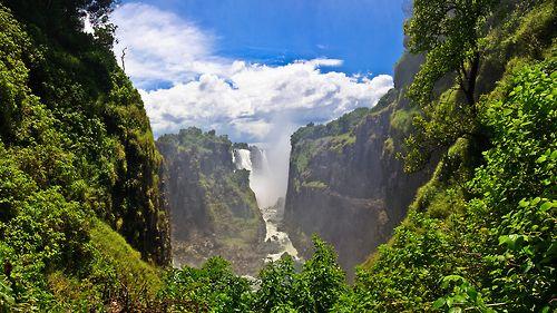 Waterfall somewhere...