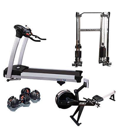 advanced gym for rent  recumbent bike workout weight
