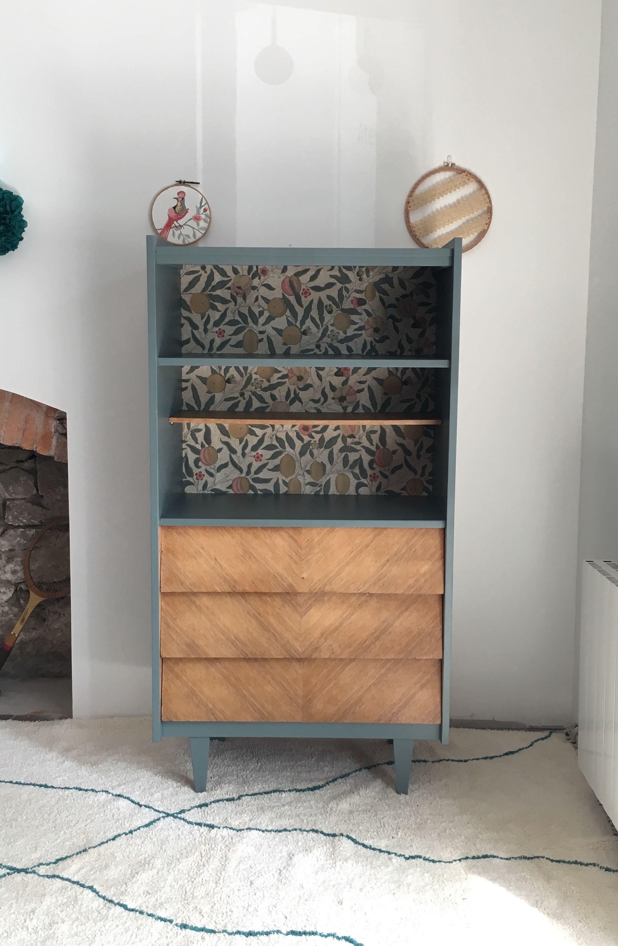 Bibliotheque Commode Vintage Relooking De Mobilier Commode Vintage Mobilier De Salon
