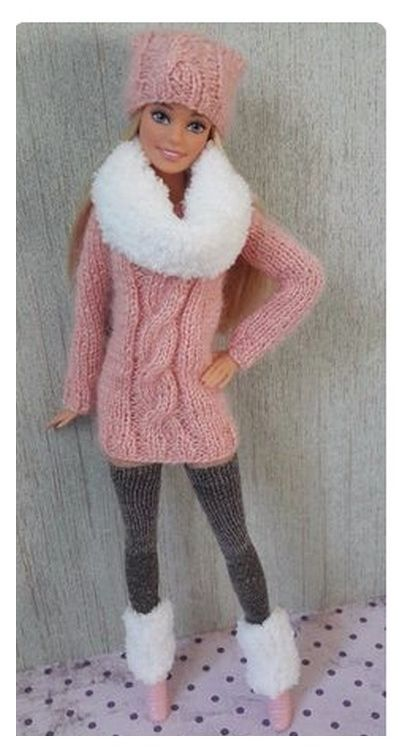 Joli bonnet ... joli point - Le monde selon RAY ZAB #barbie