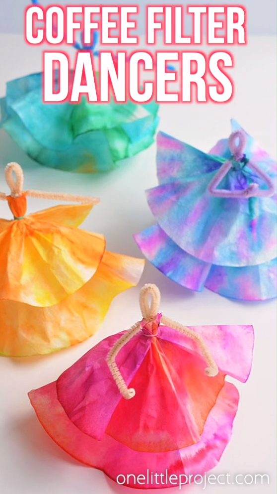 Photo of How to Make Coffee Filter Dancers