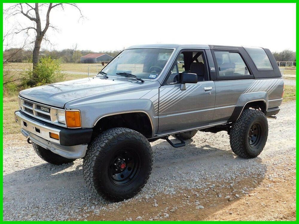1987 Toyota 4runner 1987 Toyota 4runner Sr5 Efi 4wd Loaded Suv 22r E 1987 Toyota 4runner Sr5 Efi 4wd Loaded 22r E Toyota 4runner Toyota 4runner Sr5 4runner