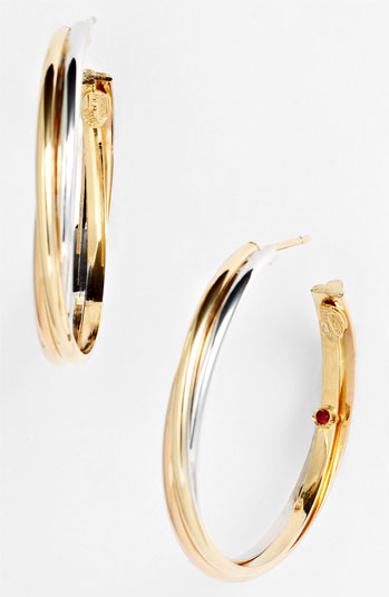 #Roberto Coin             #Jewelry                  #Roberto #Coin #Twisted #Hoop #Earrings #Multi      Roberto Coin Twisted Hoop Earrings Multi                                      http://www.snaproduct.com/product.aspx?PID=5423531