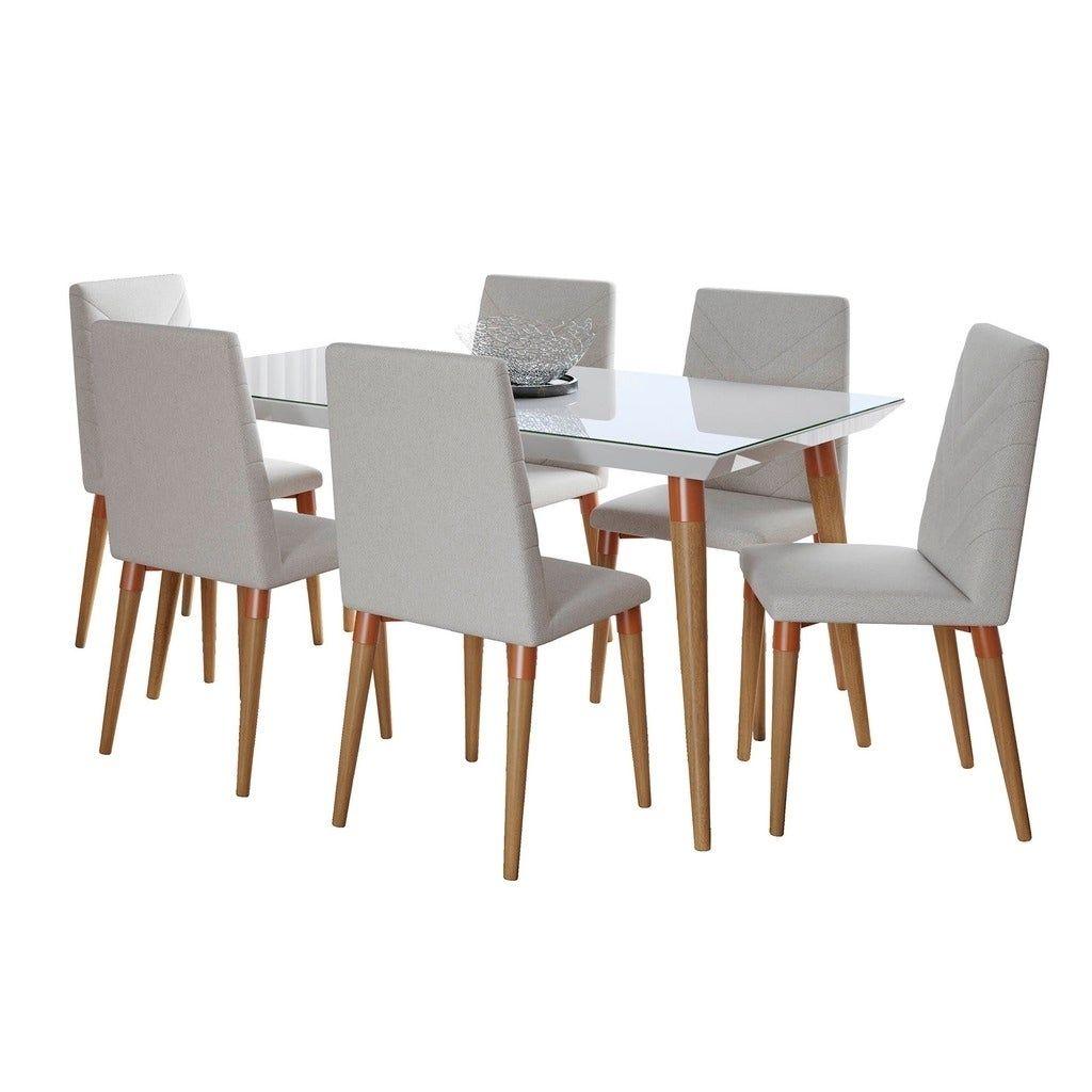 30++ Mainstays 7 piece dining set wood and metal Inspiration