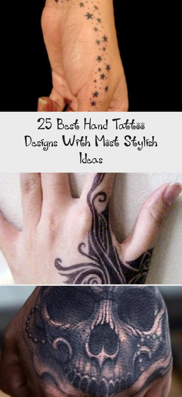 25 Best Meaningful Hand Tattoo Designs for Men and Women