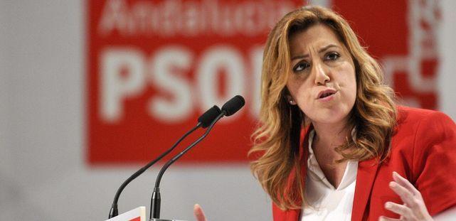 Susana Díaz promovió y ganó 32 golpes de Estado en agrupaciones del PSOE