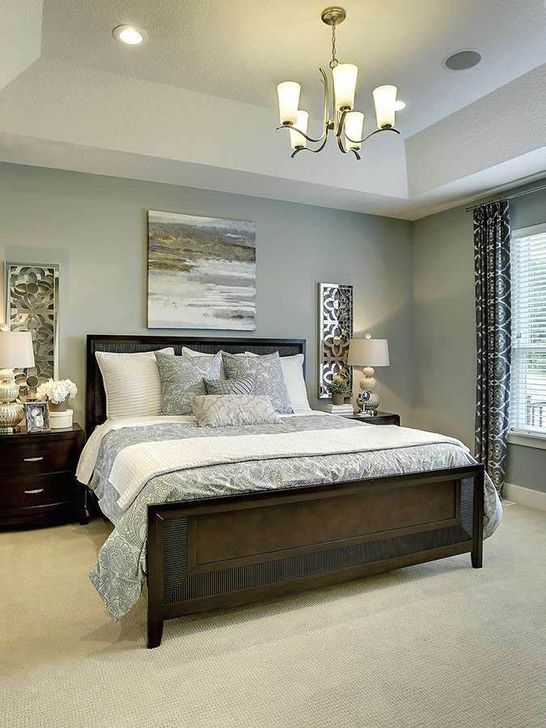 20+ Perfect Bedroom Paint Colors Ideas To Make Your Sleep More Comfort - TRENDUHOME