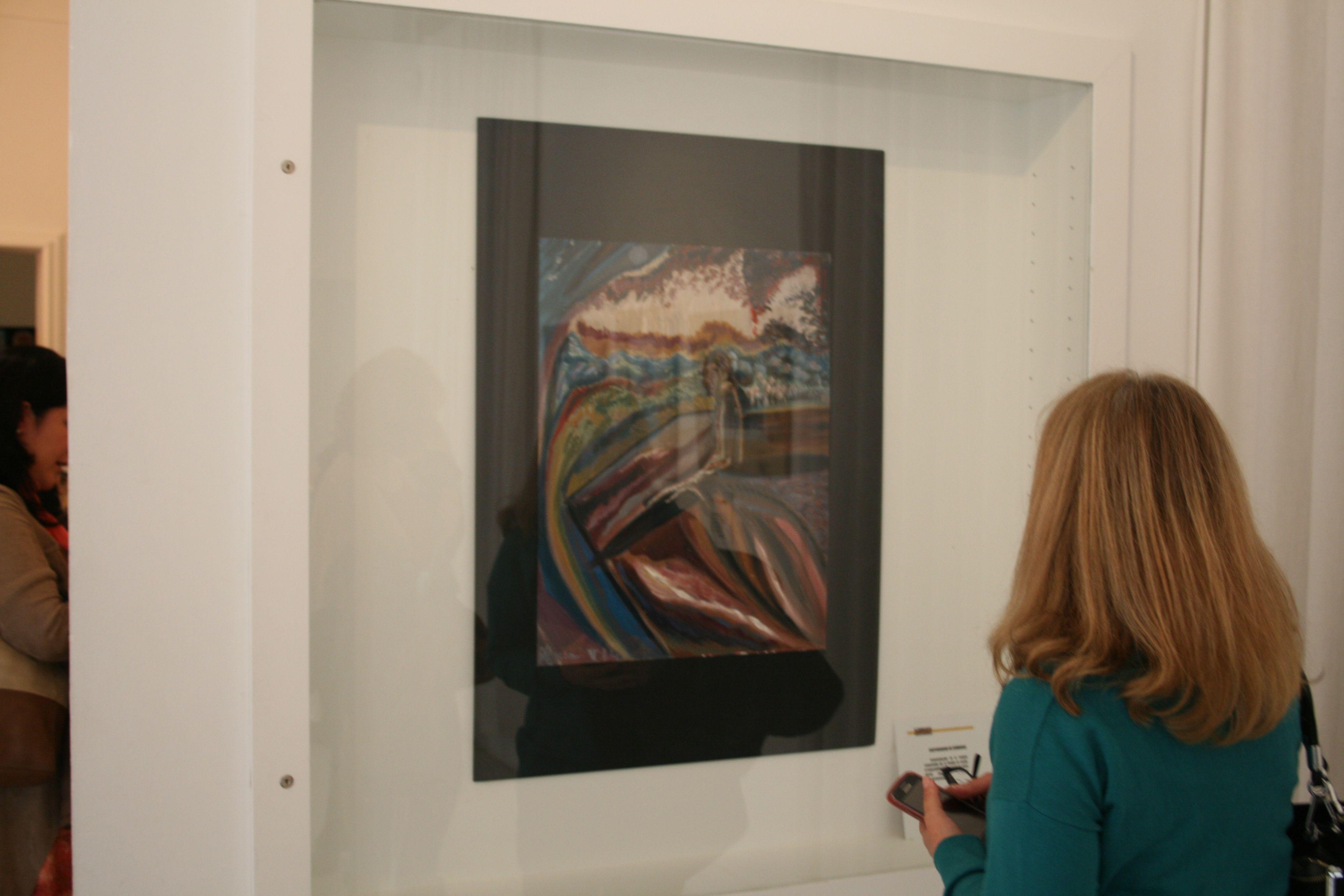Inauguración de la exposición. Los asistentes disfrutaron de las obras. #museosmassociales #mnad