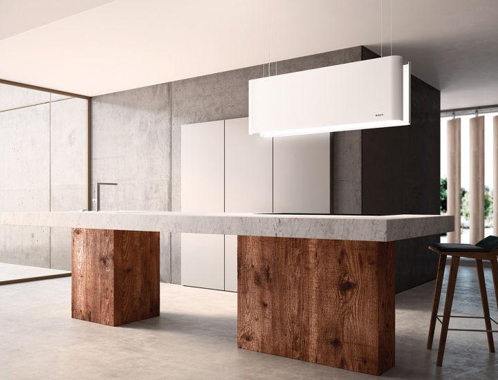 3 hottes design et silencieuses NOVY Tendance cuisine Pinterest - hotte integree dans meuble haut
